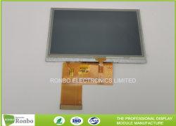 4.3 インチ IPS 高解像度 800X480 高輝度抵抗膜方式タッチ TFT スクリーン