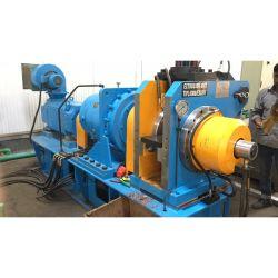 Haste de cobre do fio do equipamento de produção e máquina de extrusão contínua de barramentos