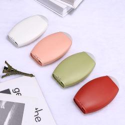 regalo ricaricabile di natale della lampada di notte della Banca di potere del USB del multi di funzione 10000mAh scaldino portatile della mano
