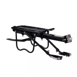 Universal Black Aluminum Alloy Bicycle Carrier Rear for 러기지