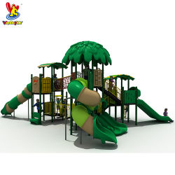 GS TUV Standard Amusement Park Original Forest Playsets Indoor Kids Speelgoed kinderen Play House System water Park Plastic Slide Games Speeltoestellen