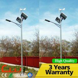 IP65 60W de alta eficiência no exterior o LED de luz de estrada Solar Gerador eólico