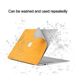 Computador portátil notebook personalizado de pele abrange a vinheta do computador portátil do protector de película de Shell PU vinheta autocolante para notebook portátil de couro