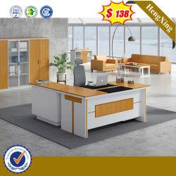 Вишневого цвета меламина деревянные исполнительного таблица современной мебели