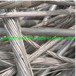 Perfil de alumínio extrudido 6.063 Alumínio extrudido e desperdícios de sucata de fio de sucata de alumínio
