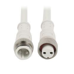 IP 67 68 Pin femminile del cavo 2 del connettore della striscia del collegamento LED del maschio impermeabile
