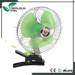 DC 12V 24V Voiture ventilateur Ventilateur Portable oscillant auto voiture 8 pouces mini voiture avec l'interrupteur du ventilateur