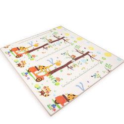 180*200cm 72*80 inch XPE Foam Baby Crawl Play Mat niet giftig BPA Free Reversible Cartoon Design Kids Playmat voor baby's met groothandel Naar Amazon
