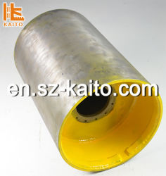 Tamburo doppio in acciaio Bomag/Hamm/Dynapac per rullo vibrante per strada