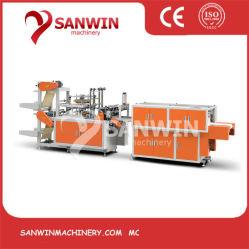 China Automatic Double Layer CPE TPE EVA PE LDPE HDPE 使い捨てプラスチック製グローブ製造装置