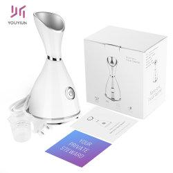 Salón de belleza spa Profesional Eléctrico de etiqueta privada de neblina caliente caliente Nano iónica Mini portátiles vaporizador Facial facial