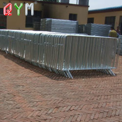 Beweglicher galvanisierter Zaun-Panel-Metallzaun täfelt temporäres Zaun-Teil