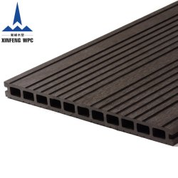 Scheda composita di plastica di legno di Decking del materiale da costruzione di Xinfeng