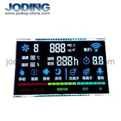 VA-Modus 1/4 1/3 schräge Digit LCD-Bildschirmanzeige des Zoll-4