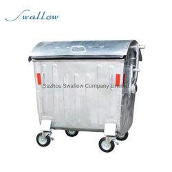 Chinesische Fabrik 1100 Liter En840 Outdoor Verzinkter Abfallbehälter