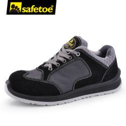Un trabajo ocasional de la moda de marca de calzado deportivo Calzado de seguridad de cuero