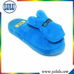 De Blauwe Pantoffel van uitstekende kwaliteit van de Slaapkamer van de Hond van het Stuk speelgoed van de Pluche voor Jonge geitjes