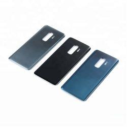 Резервное питание от батарей стеклянная крышка для Samsung Galaxy S9 G960 G960F S9 + S9 и G965 G965f аккумулятор задняя крышка корпуса двери случае