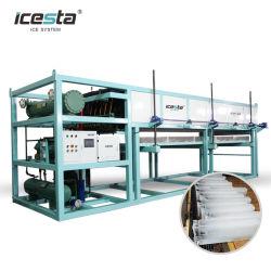 20 Ton Industrial Commercial bloc de glace Making Machine Prix avec concasseur