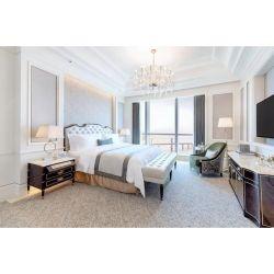 La province de Guangdong 5 étoiles hôtel personnalisé fabrique de meubles meubles de chambre de luxe haute brillance défini