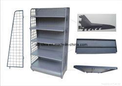 Minorista unidades portátiles de pantalla de visualización de estanterías metálicas estanterías con alambre