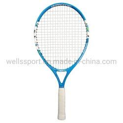 Raqueta de Tenis de 21 pulgadas carbono Alunimun- el cuerpo para niños Diseño de Logotipo personalizado con una cubierta de color