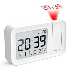 Новый продукт 2019 Цвет ночной свет с выступающим часы (белый)