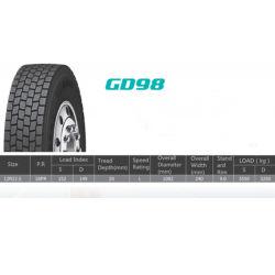 Lw tutta la gomma d'acciaio del camion della parte radiale 12r 22.5 fatta in Cina