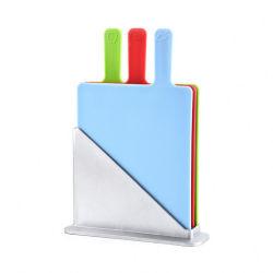 品質高いBPAはまな板の台所Foldableパンのタケまな板を解放する