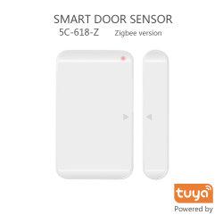 5C Smart домашней беспроводной датчик двери TUYA Zigbee устройство 5C-618-Z