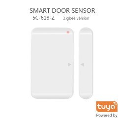 5C Hogar Inteligente Wireless Sensor de puerta TUYA Dispositivo Zigbee 5C-618-Z