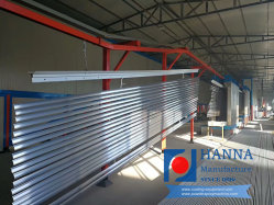 Profil en aluminium extrudé Ligne de revêtement en poudre