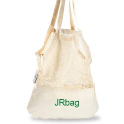 Coton réutilisable fourre-tout sac shopping de maillage pour les légumes fruits