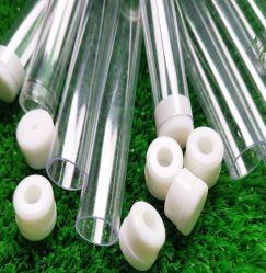 Color de la ronda el tubo de plástico transparente de policarbonato /tubos transparentes de policarbonato