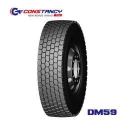 ثبات العلامة التجارية للقيادة/وضع التوجيه إطارات الشاحنة نمط Dm59 هو 315/80r22,5