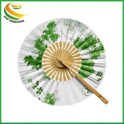 Fleurs de bambou ronde spéciale Popup ventilateur rond