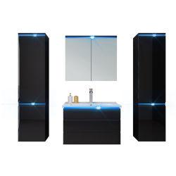 Sélection écologique de la vanité de style salle de bains avec lavabo et miroir à LED