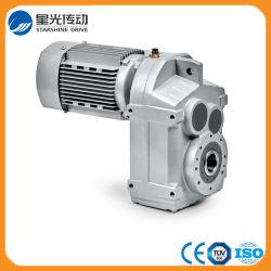 F Reductiemiddel van het Toestel van de Versnellingsbak van de Vermindering van de Snelheid van de Motor van de Reeks het Spiraalvormige