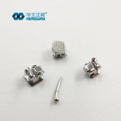 Material Dental Ortodoncia Auto ligar soporte de metal Ce FDA ISO13485