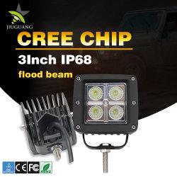 """Veículo ATV liderou os trabalhos de inundação do ponto de luz veículo fora de estrada IP68 SUV 20W Square 3"""" 4 polegada 20W ATV Pods de luz LED"""