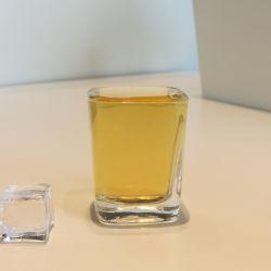 Bar Mini Claire d'alimentation Square 60ml en verre de vin de la Tequila Mini Shot