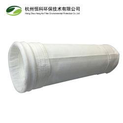 Collecteur de poussière de textiles industriels recouvert de PTFE Sac filtre