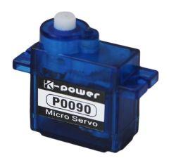 K-potencia P0090 SG90 9g de giro de 180 grados para RC de servo Micro Juguetes