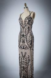 Populaires élingue perlé Ballgown sexy robe de soirée
