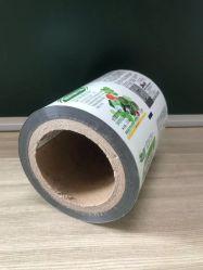 習慣はトイレットペーパーロールパックのティッシュの包装紙包装ロールフィルムのためのPEのプラスチック包装のフィルムを印刷した