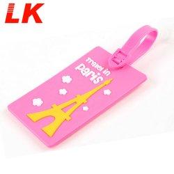 Cheap Bulk personalizzato Soft PVC bagagli Tag per la vendita