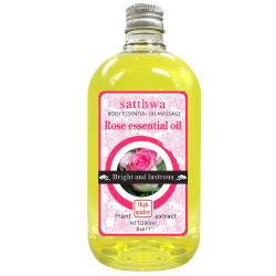 ローズの精油ボディマッサージオイルを白くし、保湿するOEM/ODM