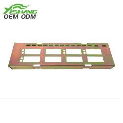 Piezas Personalizadas de Chapa de Acero Galvanizado de Color-zinc