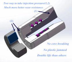 Schotelklep van de Lucht van de hoge druk de Bestand Voor Plastic Vorm