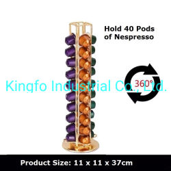 40-peulen die de Rekken Kfs70065 roteren van de Houders van de Capsule Nespresso